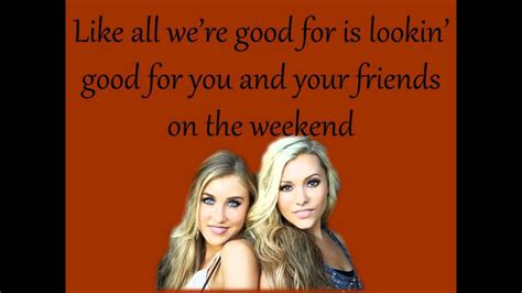 Girl In A Country Song   Maddie and Tae +Lyrics on Screen ...