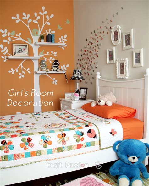 Girl s Bedroom Decoration Ideas   Home Decor | Craft ...
