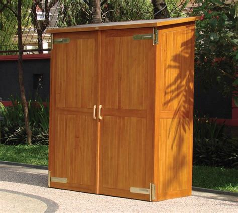 Glittering Large Outdoor Storage Cabinet With Polyurethane ...