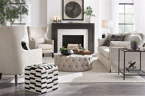 Global Farmhouse Living Room – Shop by Room – The Home Depot