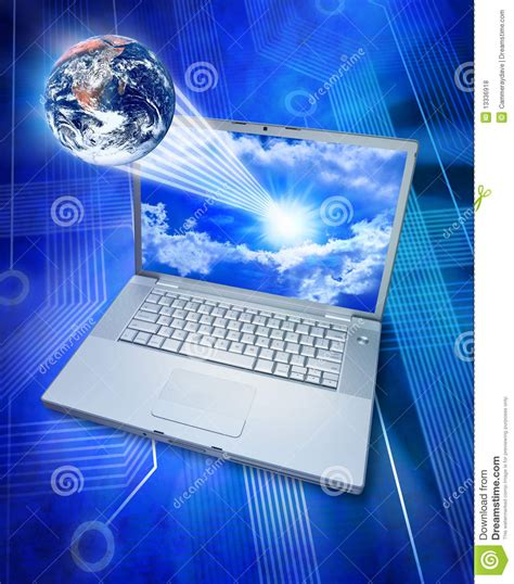Global Information Computer Technology Royalty Free Stock ...