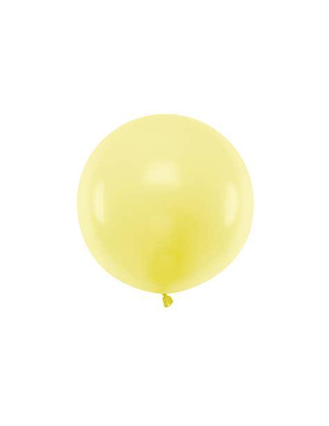 Globo de látex gigante amarillo 60 cm: Decoración,y ...