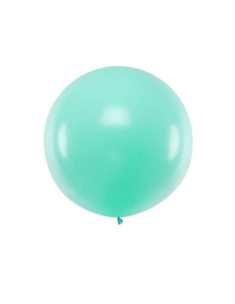 Globo de látex gigante verde menta 1 m: Decoración,y ...