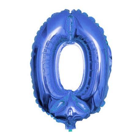 Globo Metalico o Metalizado Azul Numero   80cm!!   Globos Yuli