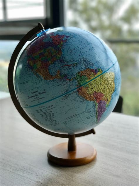 Globo Terraqueo Con Relieve 30cm Globemaster !oferta ...
