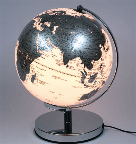 Globo terráqueo de 25 cms de diámetro con luz   comprar ...