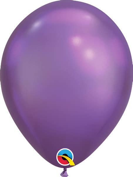 Globos CHROME QUALATEX Purple de 11   28cm  100  por solo ...