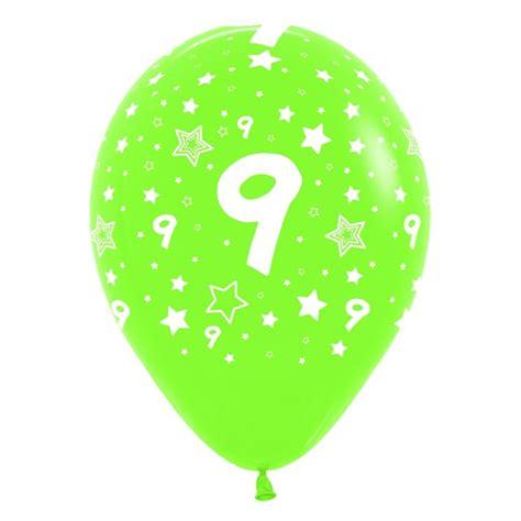 Globos del número 9 12  30cm en globos con números para ...