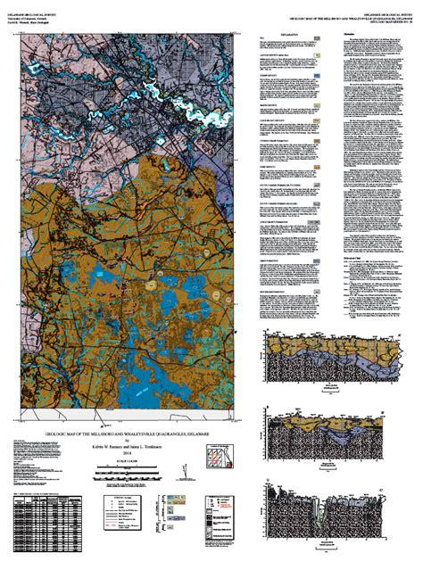 GM20 Geologic Map of the Millsboro and Whaleysville ...