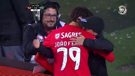 Goal | Golo João Félix: Benfica  1  0 Marítimo  Liga 18/19 ...
