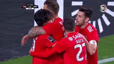 Goal | Golo João Félix: Benfica  2  0 Chaves  Liga 18/19 ...