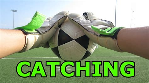 Goalkeeper Training: Catching and Holding a Shot   YouTube