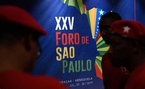 Gobierno de Bolivia desiste de asistir al Foro de Sao Paulo