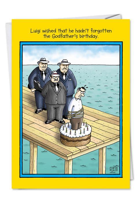 Godfather Funny Birthday Greeting Card Nobleworks