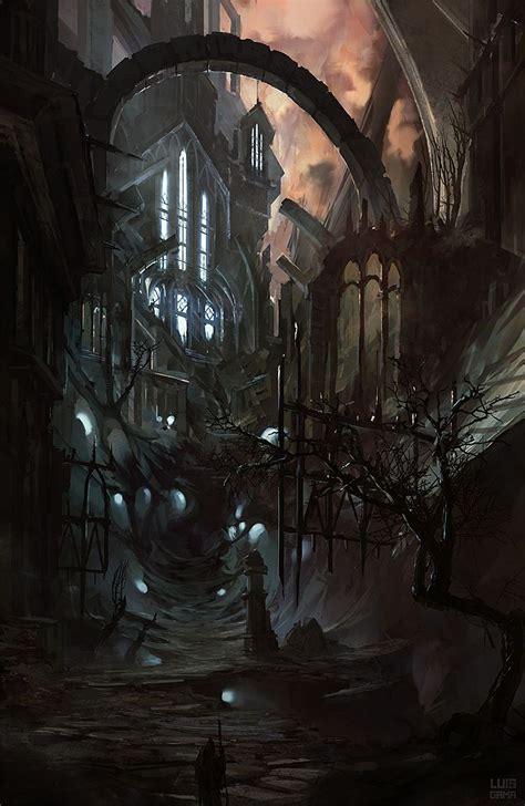 Godless by elgama on deviantART   Fantasy art, Fantasy city