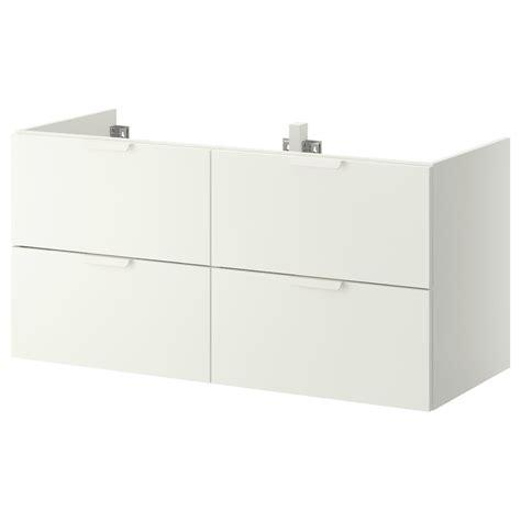 GODMORGON Armario lavabo 4cajones, blanco, 120x47x58 cm   IKEA