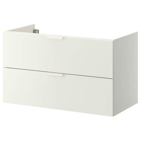 GODMORGON Mueble de lavabo con 2 cajones   blanco   IKEA