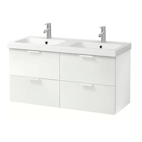 GODMORGON / ODENSVIK Armario lavabo 4cajones, blanco ...