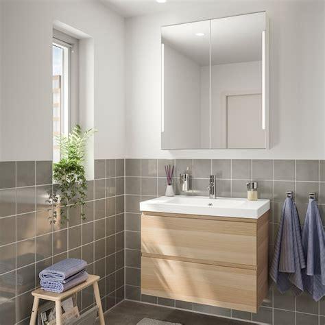 GODMORGON / ODENSVIK Muebles baño j4   efecto roble tinte ...