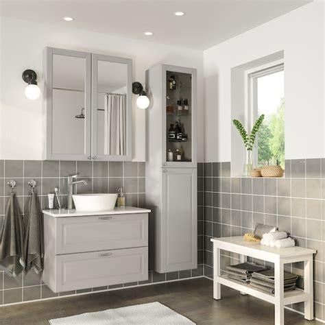 GODMORGON/TOLKEN / KATTEVIK Bathroom furniture, set of 6 ...