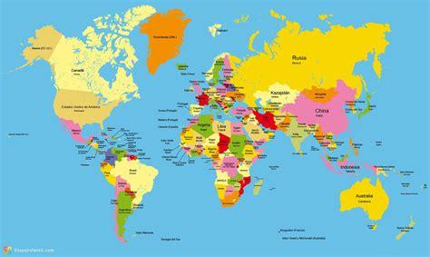 GOGUE INVADIRÁ ISRAEL em 2020   Mapa mundi colorido