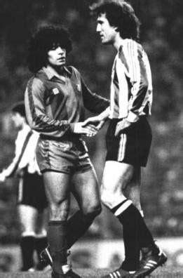 Goikoetxea en el partido que lesionó a Maradona | Fotos de ...