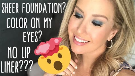 GOING OUT OF MY COMFORT ZONE MAKEUP TUTORIAL   YouTube
