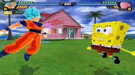 Goku and Spongebob Fusion   Spongeku Square Saiyan vs ...