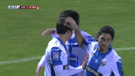Gol de Guillermo  1 0  CD Leganés   Granada CF   YouTube