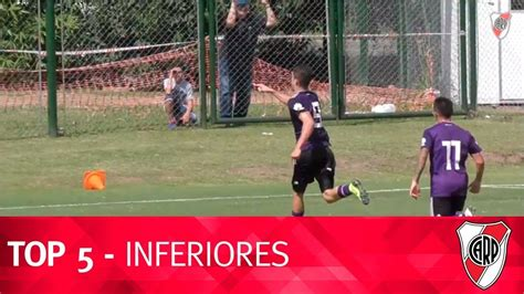 Goles de divisiones inferiores  05/04/2019    River Plate ...