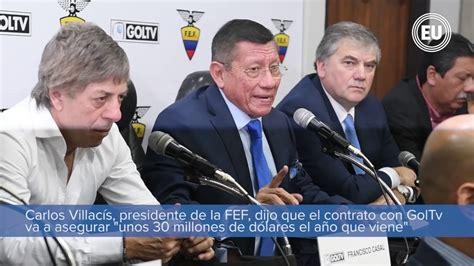 GolTV transmitirá los partidos del campeonato ecuatoriano ...