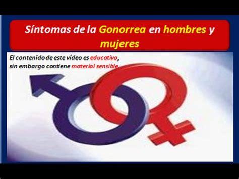 Gonorrea: Síntomas en hombres y mujeres de la GONORREA ...