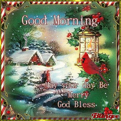 Good Morning Christmas Gif Quote Pictures, Photos, and ...