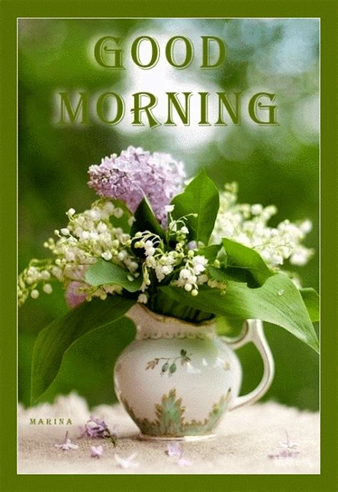 Good Morning Flowers Gif Pictures, Photos, and Images for ...