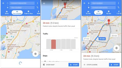 Google begins rolling out a new two wheeler mode on Maps ...
