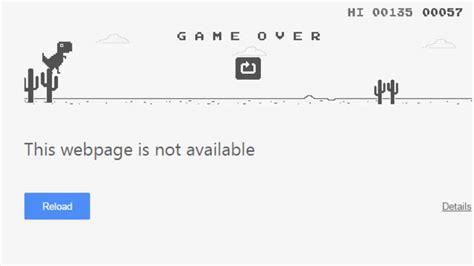 Google Chrome   Hidden Browser Game   T Rex Jump   YouTube