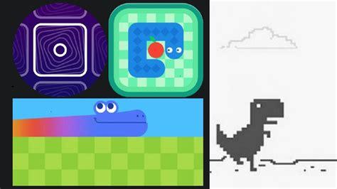 Google Chrome prepara más juegos aparte del dinosaurio que ...