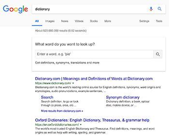 Google Dictionary   Wikipedia