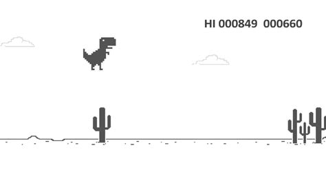 Google Dino T rex Game | Best offline game   YouTube