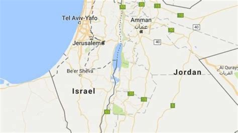 Google elimina a Palestina del mapa