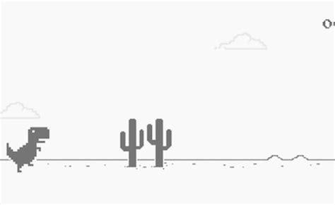 Google explica el origen de su juego del dinosaurio