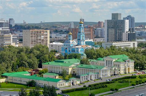 Google Map of Yekaterinburg, Russian Federation   Nations ...