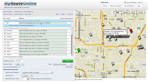 Google Map Route Planner | Examples and Forms