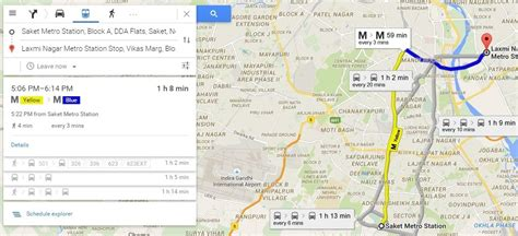 Google Map Route Planner   Find live public transit and ...