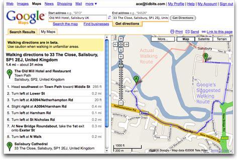 Google Maps Adds Walking Directions   TidBITS