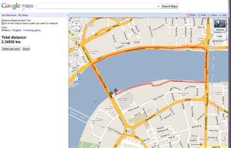 Google Maps Distance Measurement Tool Review | FitTechnica