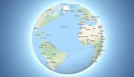 Google Maps: la Tierra deja de ser  plana  y Groenlandia ...