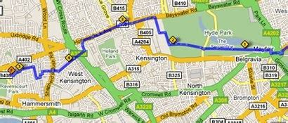 Google Maps Scout: Plan your running rout and calculate ...