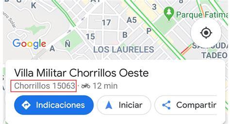 Google Maps   Truco   cómo saber mi código postal usando ...