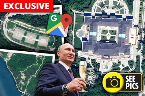 Google Maps: Vladimir Putin s palace in Russia caught on ...